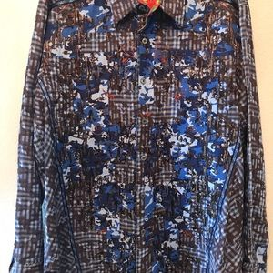 Robert Graham Limited Edition Embroidered Shirt